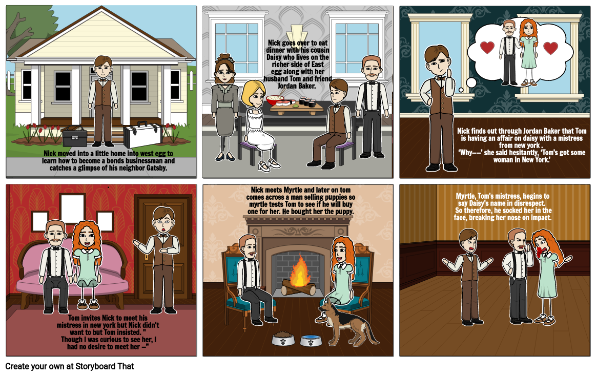 Story Board Chapter 1 and 2