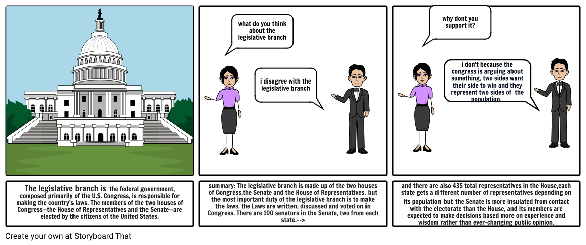 legislative comic strip