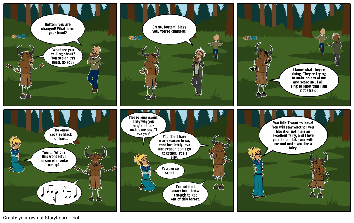 english comic strip