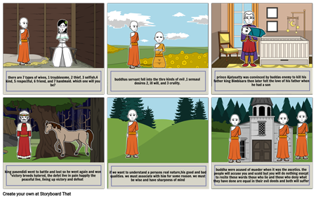 the story of the buddha part 6