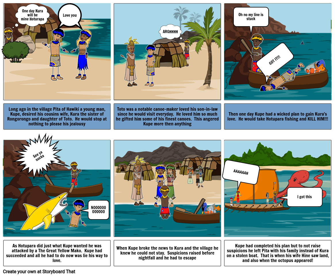The Tale of Kupe