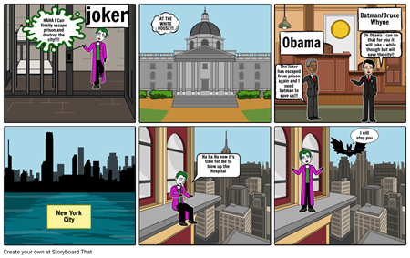 Joker Comic By David B