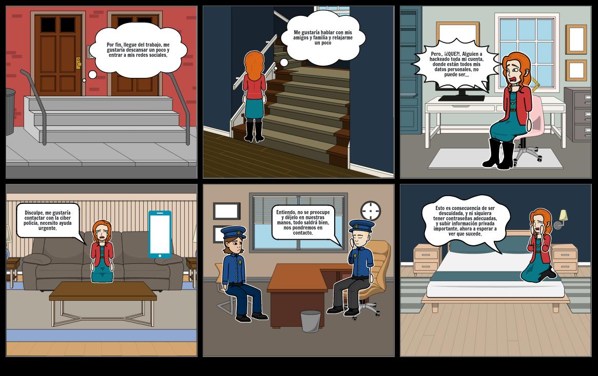Historieta de ciudadanía digital