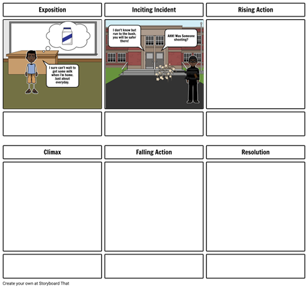 Matthew Carter - Salva Storyboardthat