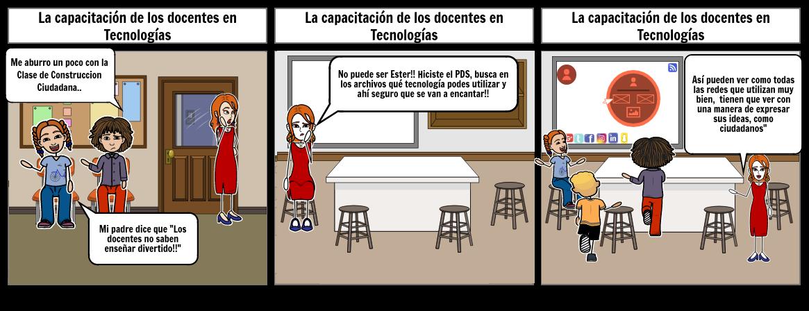 La creencia que las TIC remplazan el docente