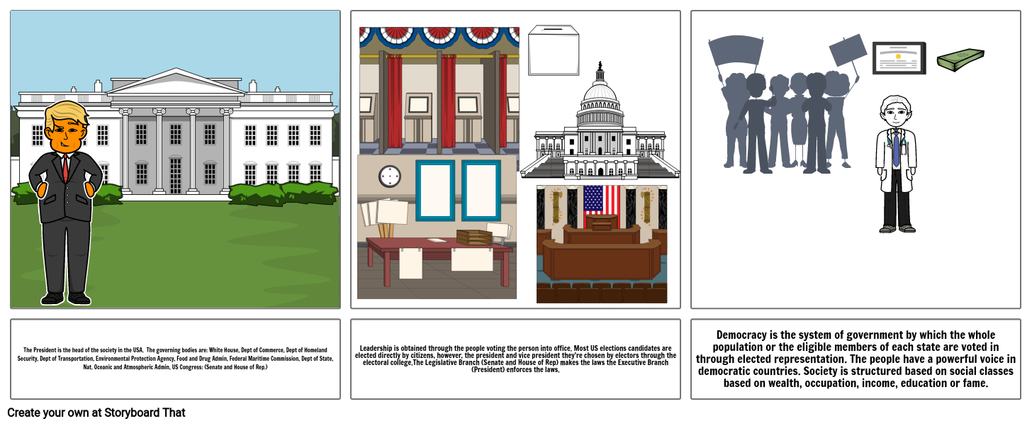 Government Story Board