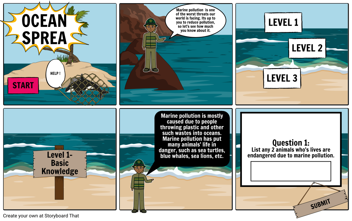 Marine Pollution- Critera B