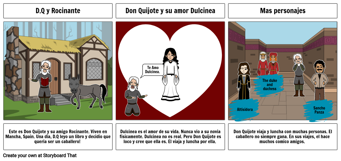 Don Quijote in the beginning