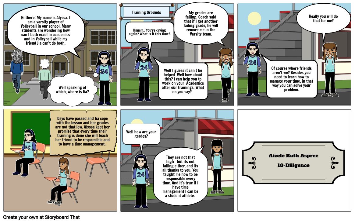 Storyboard ENGLISH 10