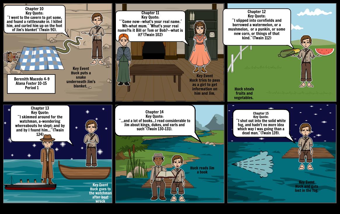 Huck finn chapters 10-15