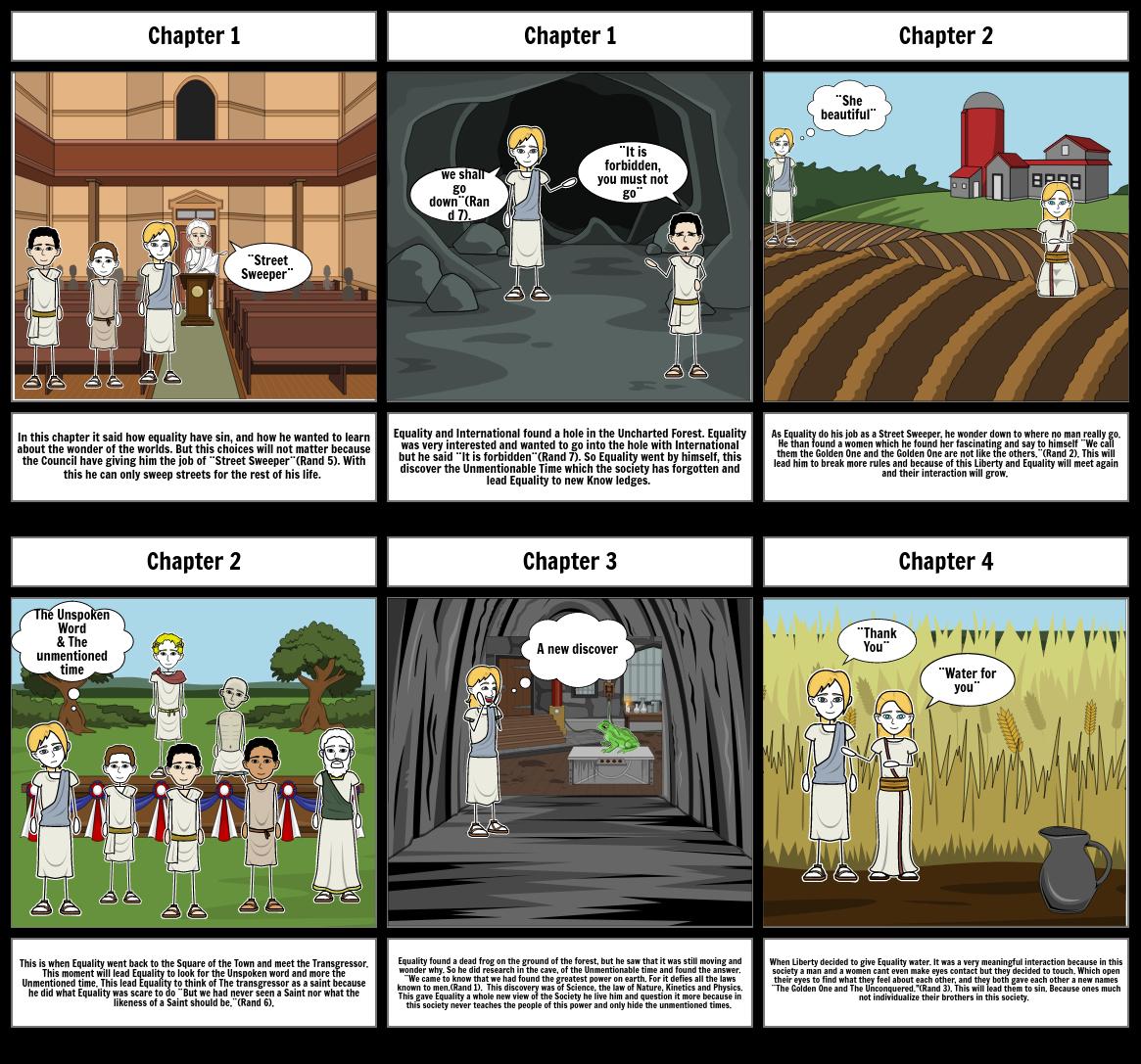 Anthem Ch.1-4 Storyboard