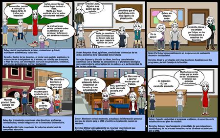 Storyboard derechos y deberes