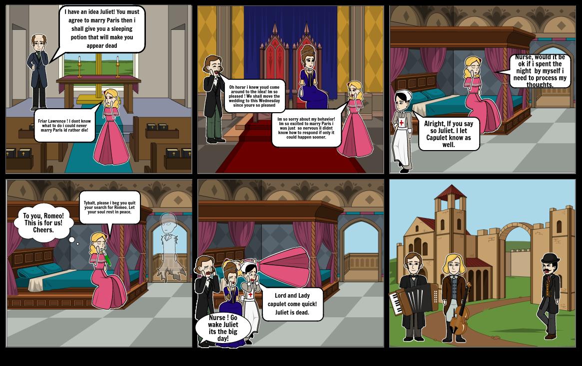 Rome & Juliet ~~~ Act 4
