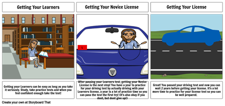 Careers Learning To Drive Assignment