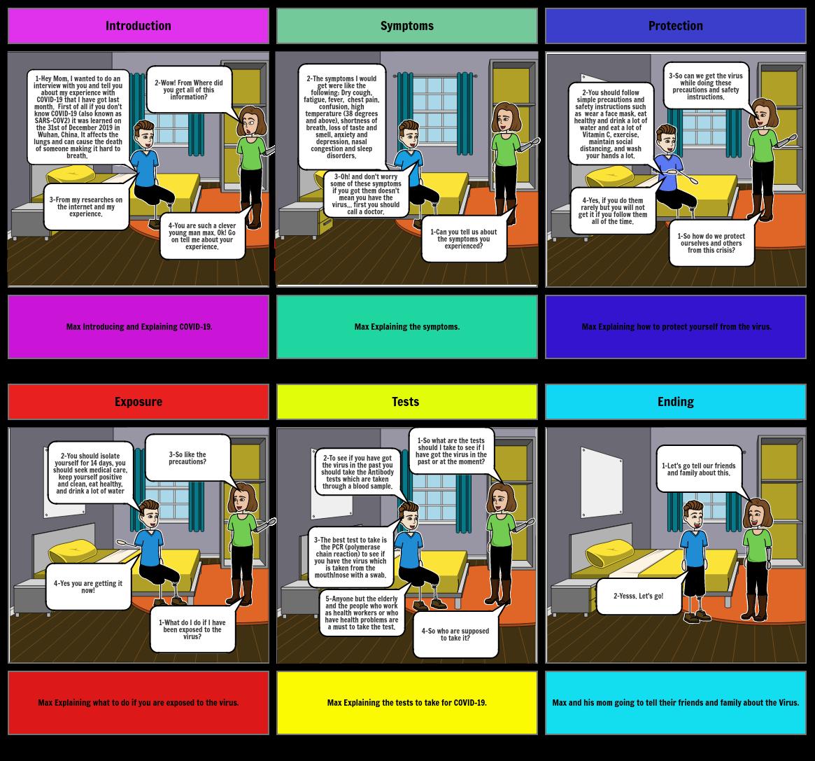 Task 3 story board