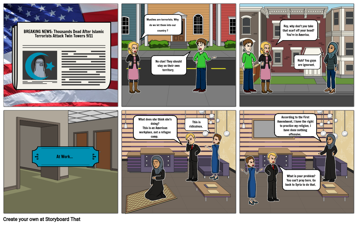 Current Event Storyboard