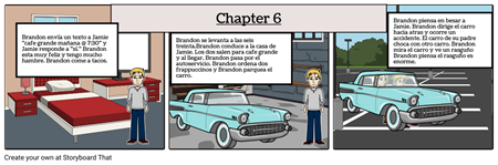spanish 1 storyboard chapter 1