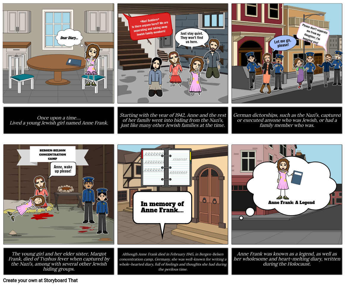 Storyboard #2 - Historical Figure