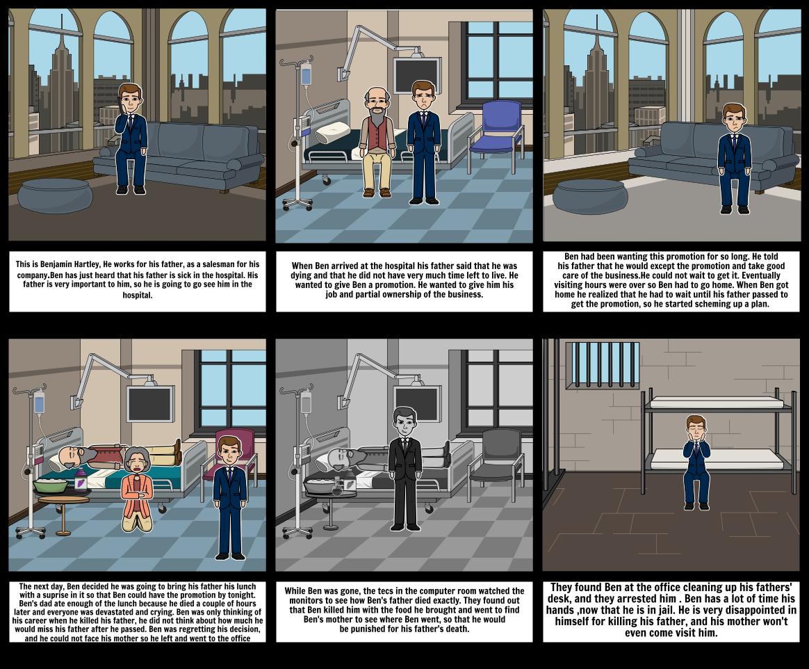 Tragic Hero Storyboard