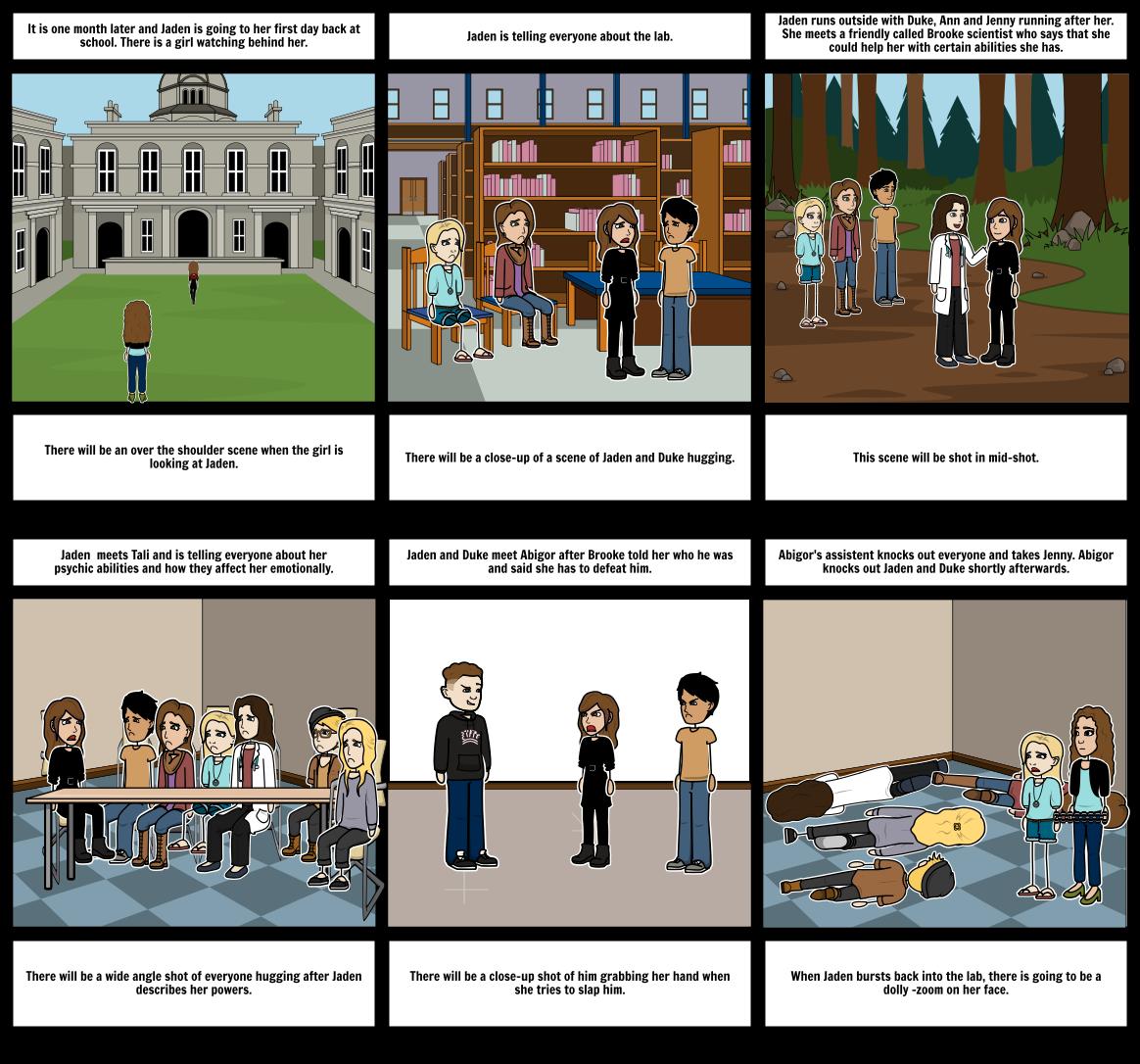 Pyschic storyboard 2