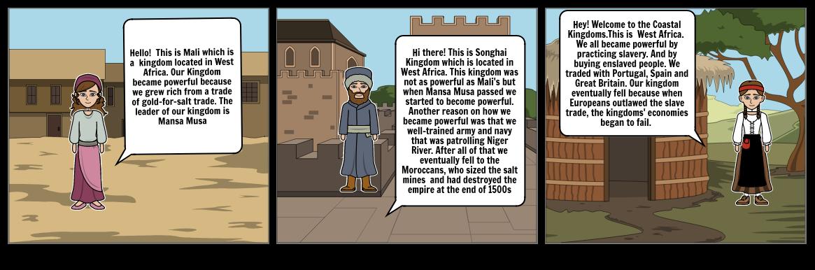 West Africa Kingdoms