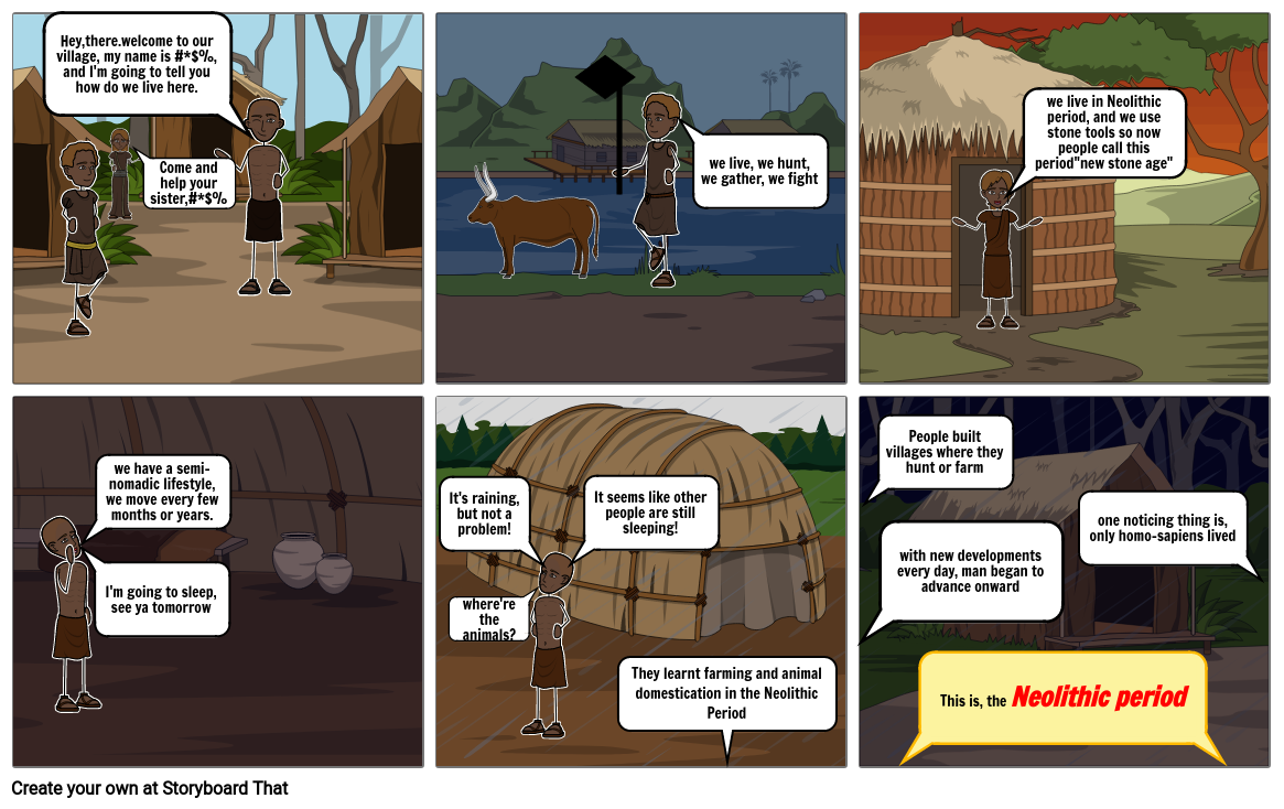 Neolithic Period project