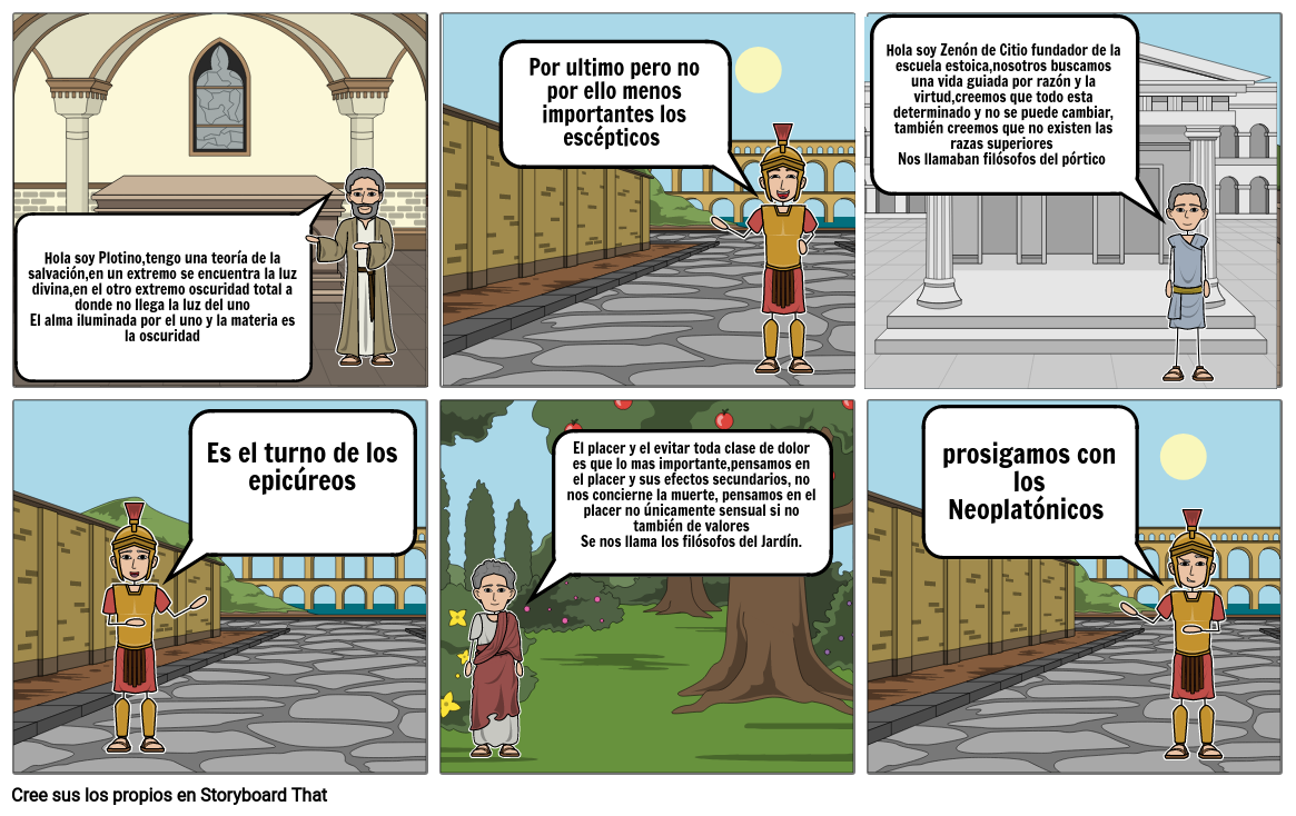 Escuelas helenisticas