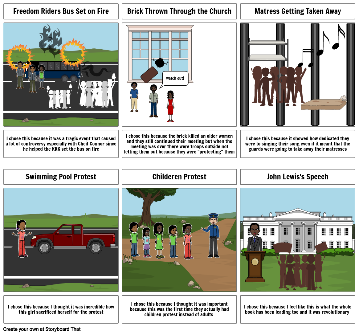 Project Citizen Story Board