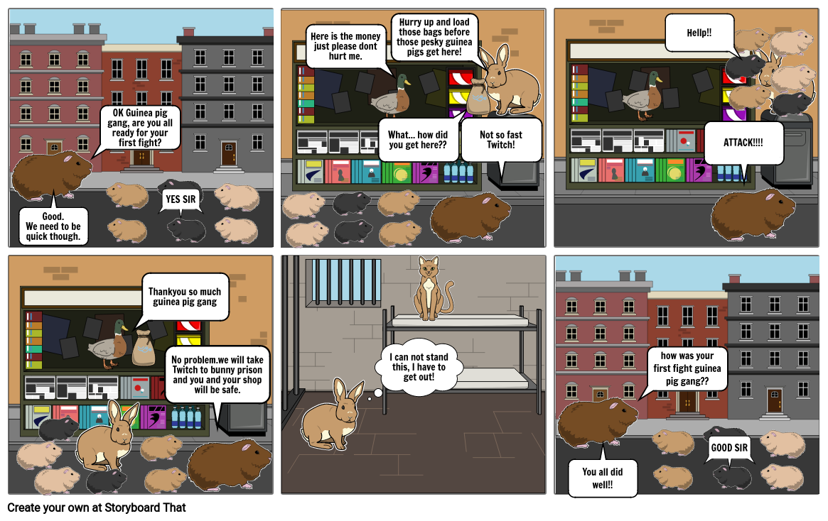 Adventures of the guinea pig gang 1