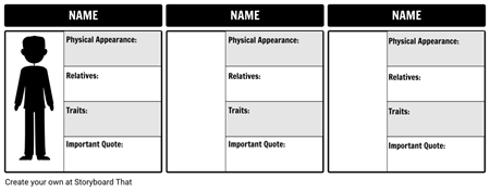 Character Map Template - Small
