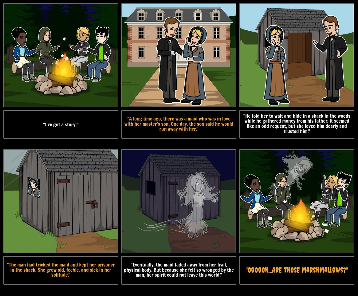 Halloween Activities - Scary Story