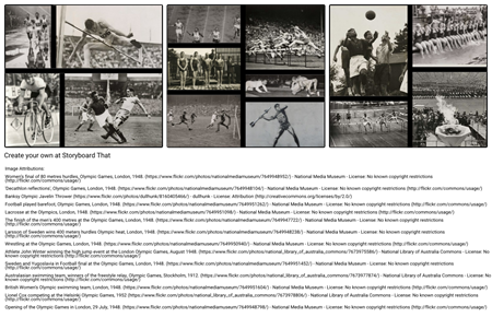 Historical Olympics