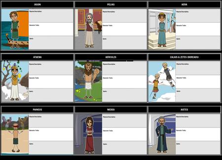 Jason and the Argonauts Characters