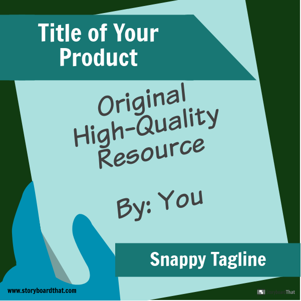 TpT Product Cover Image