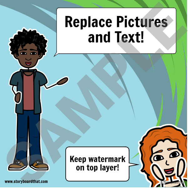 Watermark Thumbnail Template
