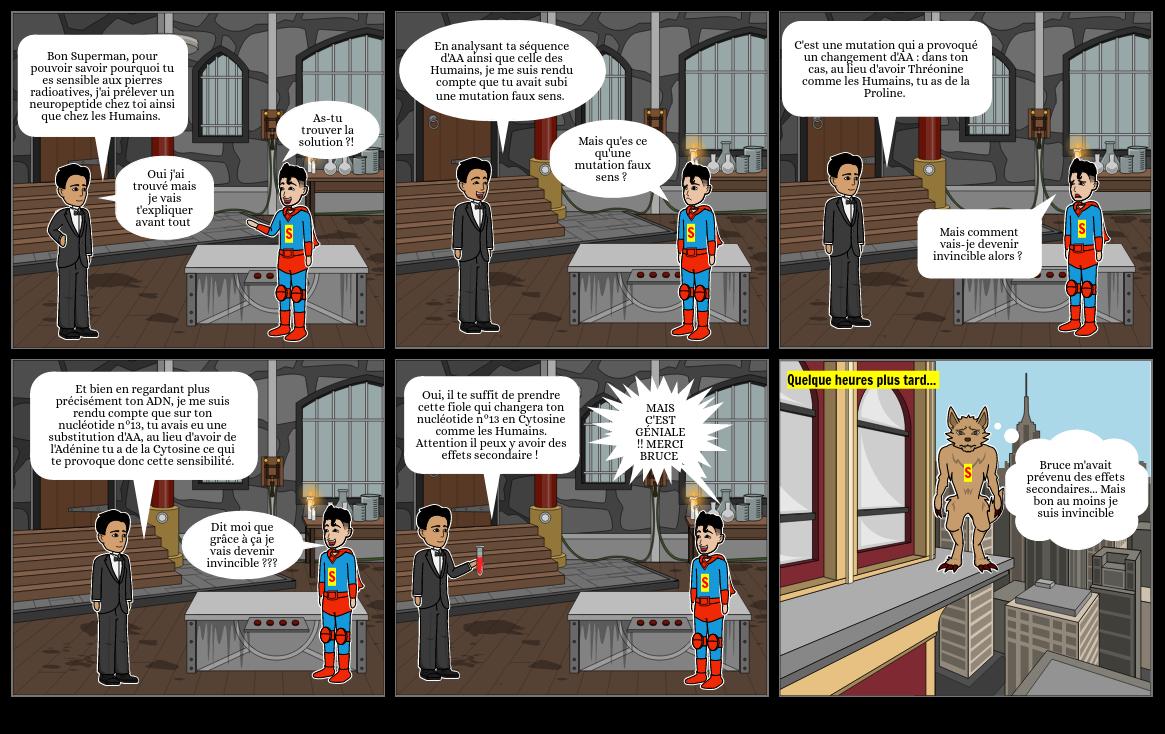 Pourquoi Superman est-il sensible à la Kryptonite ?