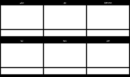 مخطط الرسم التخطيطي مخطط القصة المصورة