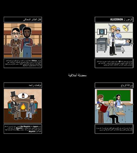 أمثلة على المعضلات الأخلاقية في الأدب