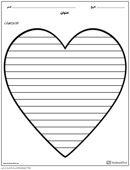 الكتابة الابداعية - القلب
