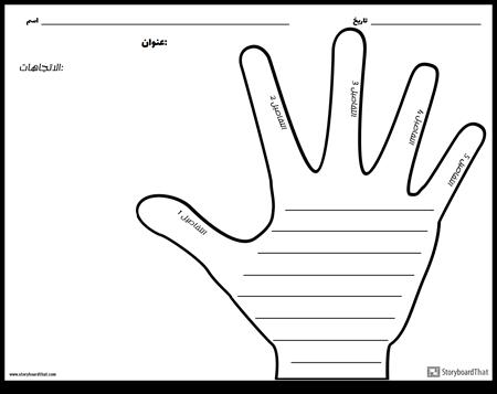 الكتابة الإبداعية - اليد