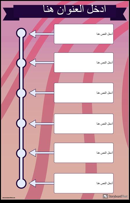 الجدول الزمني العمودي 2