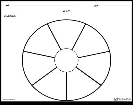 دائرة الرسم البياني - 9