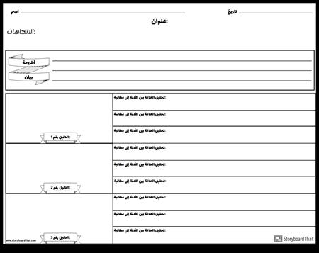 مخطط المخطط التفصيلي