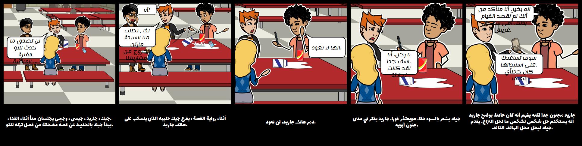 سيناريو الصراع