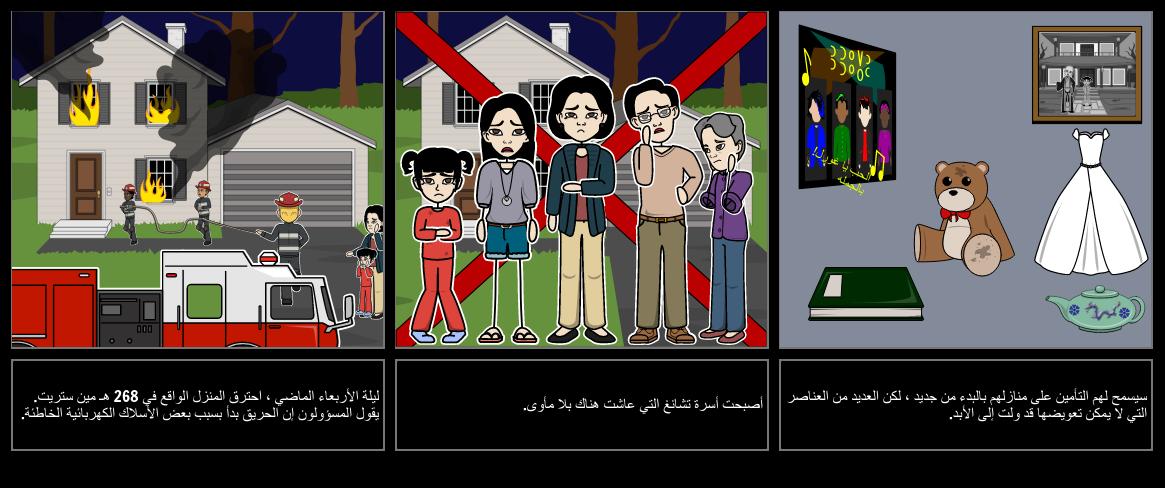 الحدث الحالي Storyboard مثال