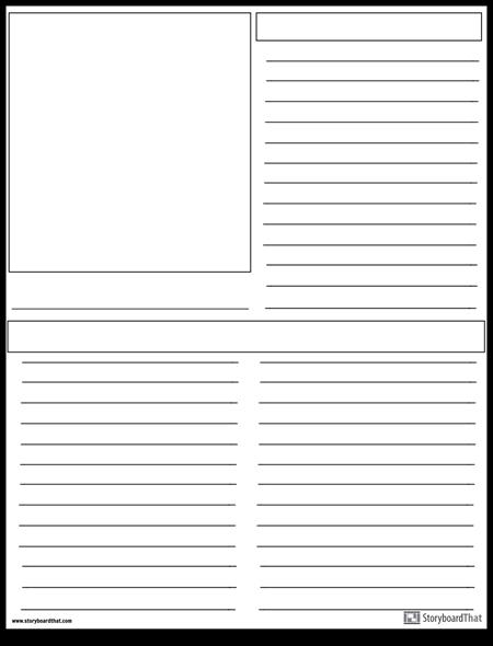 تخطيط جريدة