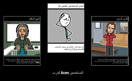 المستخدمين Acme كورب