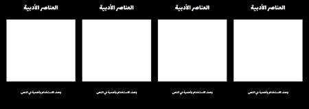أدبي عناصر T-الرسم البياني