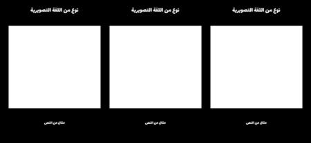 3 التصويرية اللغة تحويلة قالب