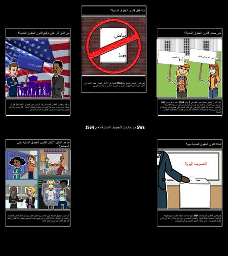 5Ws من قانون الحقوق المدنية